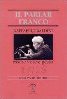 Raffaello Baldini. Essere voce e gesto