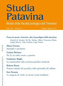 Copertina di 'Studia Patavina 2014/2'