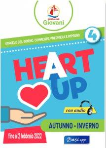 """Copertina di 'Messalino giovani """"Heart Up (16 settembre 2021 - 2 febbraio 2022)'"""
