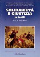 Solidarietà e giustizia in sanità - Antonio Iaccarino