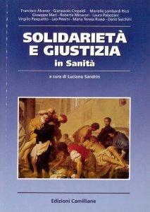 Copertina di 'Solidarietà e giustizia in sanità'