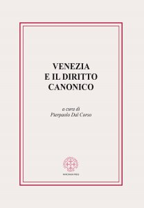 Copertina di 'Venezia e il diritto canonico'