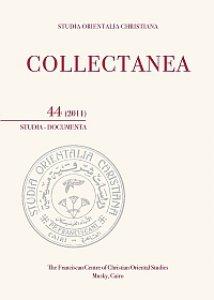 Copertina di 'Collectanea 44-2011. Studia-Documenta'