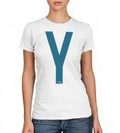 T-shirt Yeshua blu - taglia L - donna