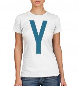 Copertina di 'T-shirt Yeshua blu - taglia L - donna'