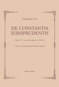 Copertina di 'De Constantia Iurisprudentis'