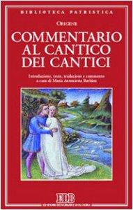 Copertina di 'Commentario al Cantico dei cantici'
