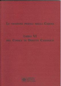 Copertina di 'Le sanzioni penali nella Chiesa'