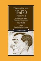 Teatro (1920-1930) - Vincenzo Scarpetta, Maria Beatrice Cozzi Scarpetta