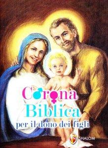 Copertina di 'Corona biblica per il dono dei figli'
