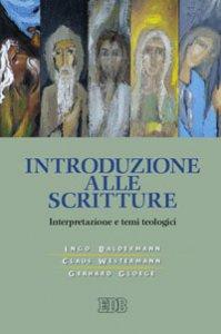 Copertina di 'Introduzione alle Scritture'