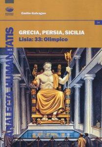 Copertina di 'Grecia, Persia, Sicilia. Lisia 33: Olimpico'