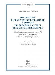 Copertina di 'Delibazione di sentenze ecclesiastiche e riforma dei processi canonici di nullità matrimoniale'