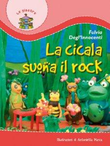 Copertina di 'La cicala suona il rock'