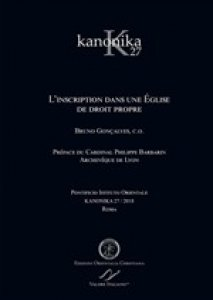 Copertina di 'Kanonika. Volume 27'