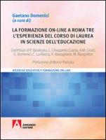 La formazione on-line a Roma Tre. L'esperienza del corso di laurea in Scienze dell'Educazione