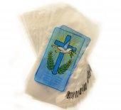 Buste porta ulivo per la domenica delle Palme - Croce e colomba (200 pezzi)