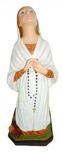 Copertina di 'Statua da esterno Santa Bernardetta in materiale infrangibile dipinta a mano cm 32'