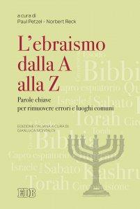 Copertina di 'L'ebraismo dalla A alla Z'