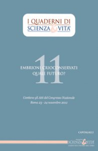 Copertina di 'Embrioni crioconservati. Quale futuro?'