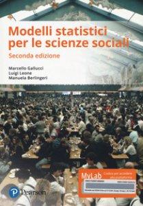Copertina di 'Modelli statistici per scienze sociali. Ediz. mylab. Con eText. Con aggiornamento online'