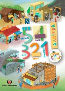 Copertina di '5 racconti, 4 amici, 3 mesi, 2 ruote, 1 avventura'