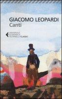 I canti - Leopardi Giacomo