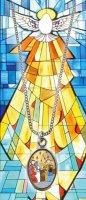 Immagine di 'Bomboniera cresima: Libretto ricordo della Cresima con medaglia Spirito Santo - italiano'