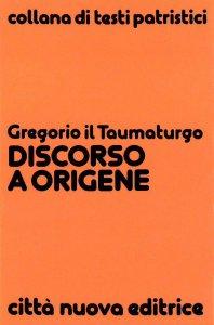 Copertina di 'Discorso a Origene'