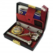 Astuccio ( kit celebrazione messa) lusso con 11 oggetti