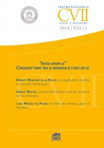 Copertina di 'Cinquantanni dal decreto conciliare Inter mirifica'