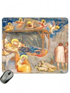 """Copertina di 'Mousepad """"Natale di Gesù"""" - dimensioni 19,7x23,5 cm'"""