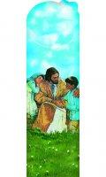 Segnalibro sagomato Gesù e i bambini