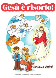 Copertina di 'Gesù è risorto'