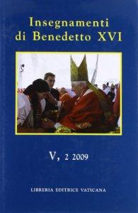 Copertina di 'Insegnamenti di Benedetto XVI'