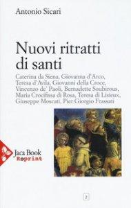 Copertina di 'Nuovi ritratti di santi'