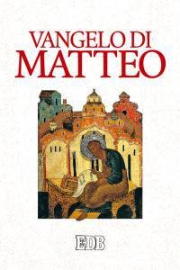 Copertina di 'Vangelo di Matteo'