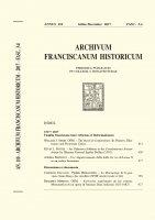 The Book of Conformities: Its Printers, Illustrators and Protestant Critics  (411-438) - William J. Short, OFM.
