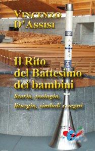 Copertina di 'Il rito del Battesimo dei bambini'