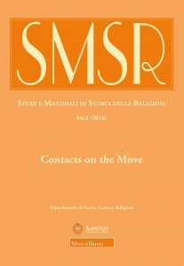 Copertina di 'SMSR. 84/2 (2018): Contacts on the Move. Toward a Redefinition of Christian-Islamic Interactions in the Early Modern Mediterranean and Beyond.'