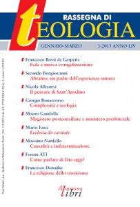 Copertina di 'Rassegna di Teologia n. 1/2013'