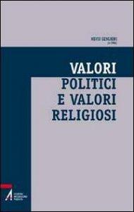 Copertina di 'Valori politici e valori religiosi'