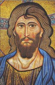 Copertina di 'Quadro Cristo Pantocratore stampa su legno - 21 x 29,5 cm'