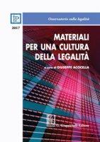 Materiali per una cultura della legalità 2017