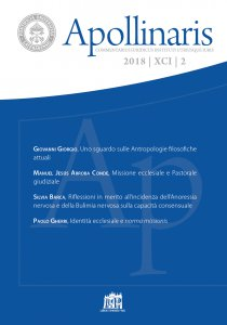 Copertina di 'Apollinaris 2018/XCI/2'