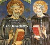 Libretto Rosario con immagine San Benedetto e rosario - italiano