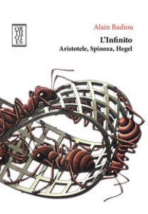 Copertina di 'L' infinito. Aristotele, Spinoza, Hegel'