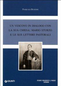 Copertina di 'Un vescovo in dialogo con la sua chiesa: Mario Sturzo e le sue lettere pastorali'