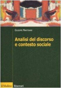 Copertina di 'Analisi del discorso e contesto sociale'
