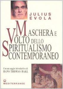 Copertina di 'Maschera e volto dello spiritualismo contemporaneo'
